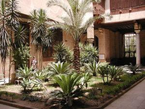 Le Caire, cour intérieure