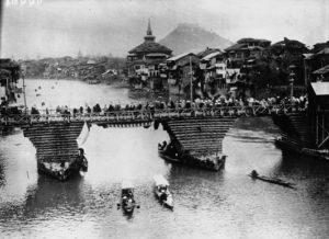 Pont à Srínagar