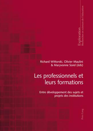 L'actualité du CRF : Les professionnels et leurs formations