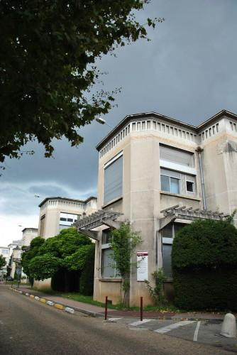 Hôpital Edouard-Herriot : détail des pavillons