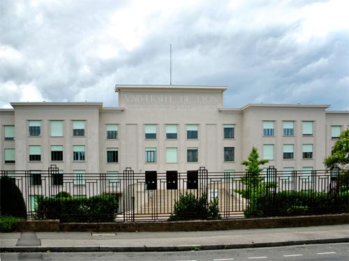 Vue de la faculté de médecine et de pharmacie de Lyon (1928-1932) de Paul Bellemain