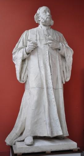 A. Boucher, plâtre original du monument Ollier (musée Paul Dubois-Alfred Boucher, Nogent-sur-Seine). Phot. Y. Bourel © Nogent-sur-Seine, musée Paul Dubois-Alfred Boucher, 2012.