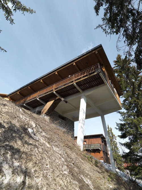 Courchevel 1850 : le chalet Lang