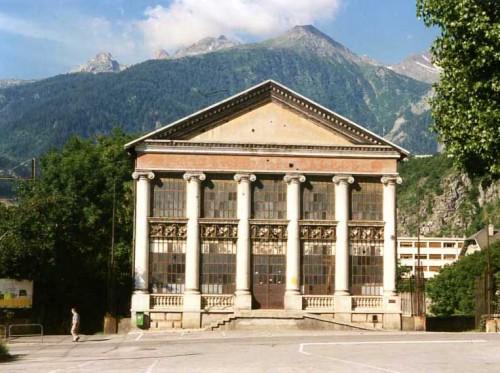 Rizerie de Modane (Nadine Halitim-Dubois © Région Rhône-Alpes, Inventaire général du patrimoine culturel, 2012, ADAGP).