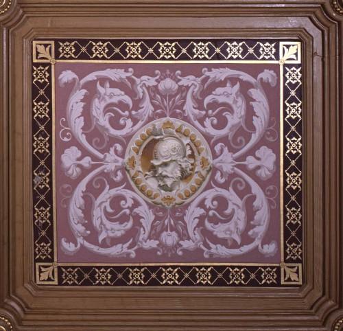 Caisson de plafond : Antoine-Louis de Lacroix-Laval