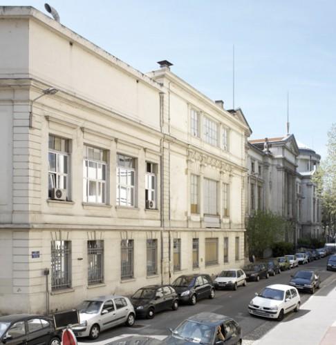 L'extension pour le Muséum d'Histoire naturelle sur la rue Morellet, Tony Blein architecte