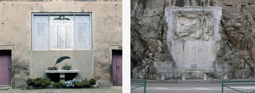 Monuments Tournon