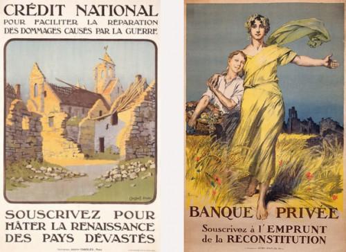 Affiches pour l'emprunt de 1920
