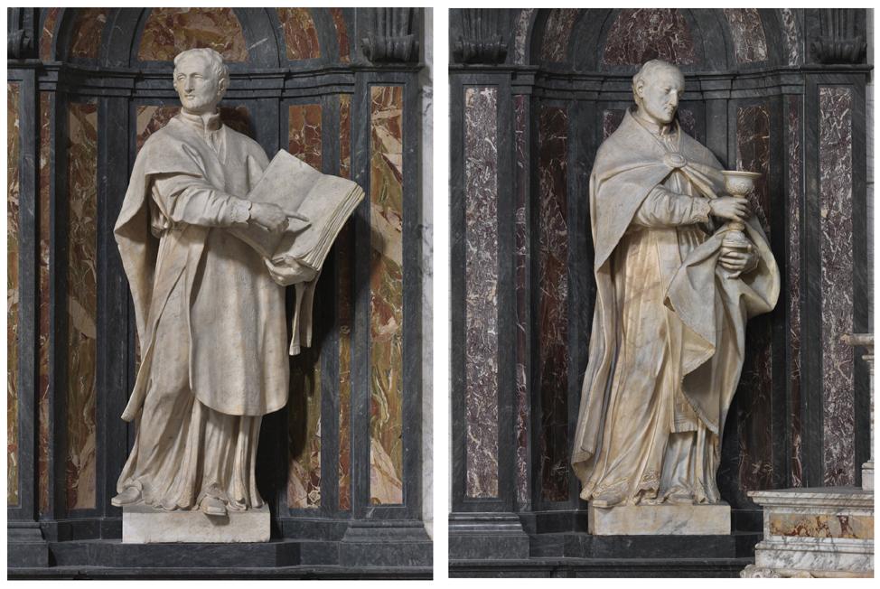 Fig. 5. Saint Ignace et saint François Borgia. Phot. E. Dessert, T. Leroy © Région Auvergne-Rhône-Alpes, Inventaire général du patrimoine culturel
