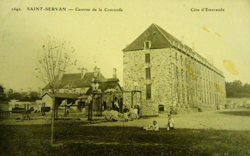 Une des casernes du 47e RI (Source : AM de Saint -Malo)