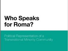 Seminar of the Project RONEPP : Pride and Prejudice, Challenging Romaphobia through Political Mobilization
