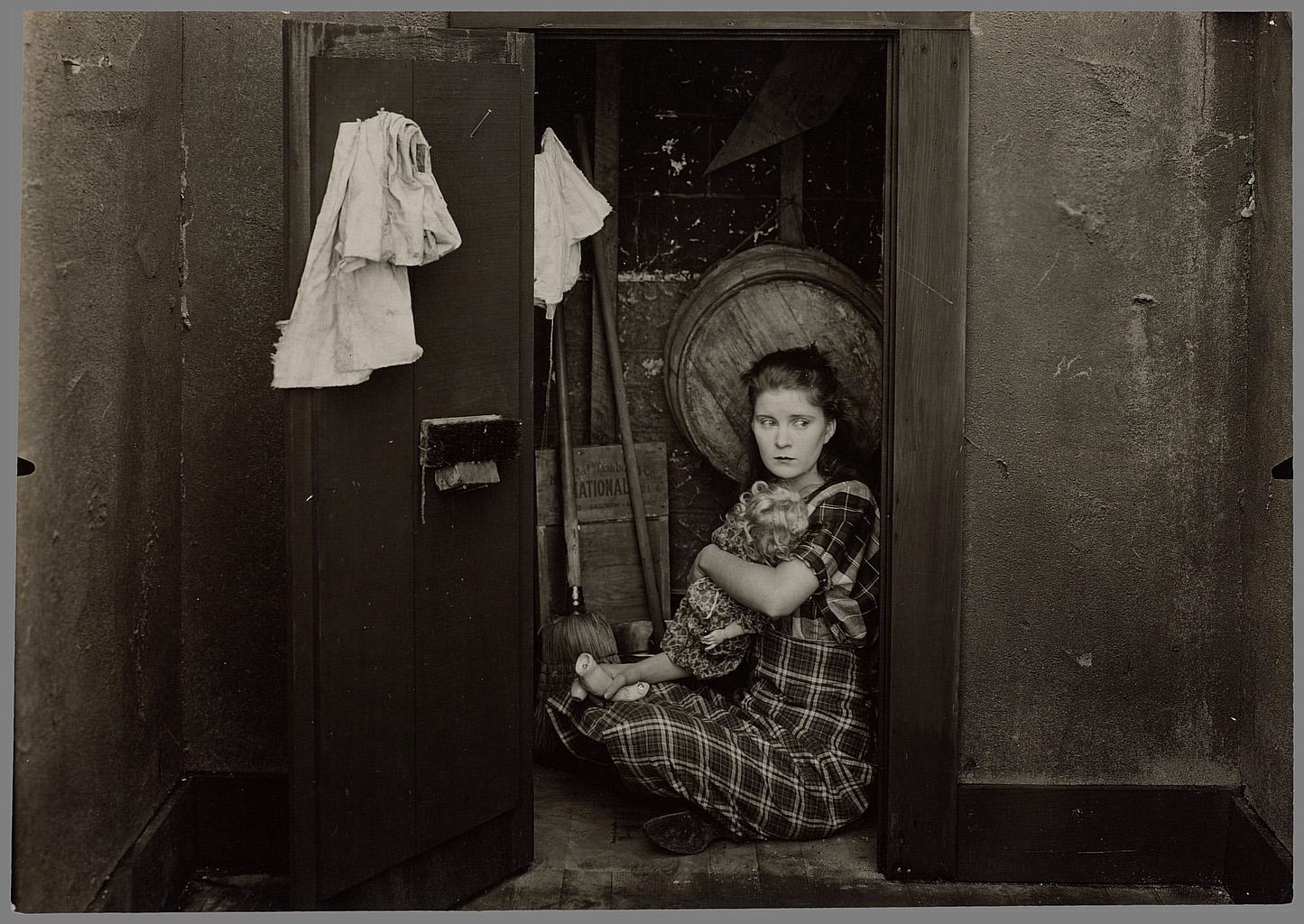Lloyd Ingraham, HooDoo Ann. Coll. Cinémathèque française. D.R. Le refuge régressif au sous-sol.