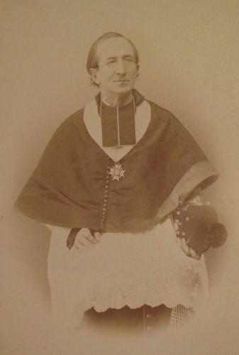 Portrait d'A. Straub. Auteur : J. Kraemer, Kehl, s.d. (© Bibliothèque du Grand Séminaire)