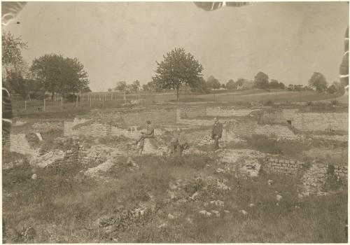 Vue du site gallo-romain de Mackwiller, s.d. (Denkmalarchiv, DRAC Alsace)