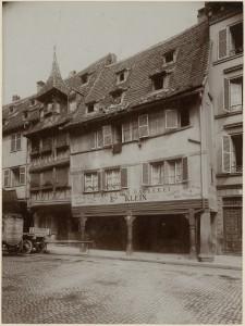 7 et 9 rue d'Or à Strasbourg. S.n., s.d. (Denkmalarchiv, DRAC Alsace)