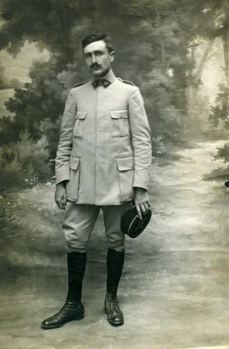 Portrait de Paul Gélis. S.n., vers 1918 (Coll. Bruno Gélis, droits réservés)