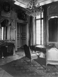 Intérieur de l'hôtel d'Andlau (siège du Port autonome), restauré par Robert Danis entre 1923 et 1933. S.n., s.d., (Droits réservés)