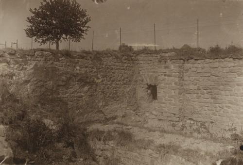 Vues du site gallo-romain de Mackwiller, vers 1880 (Denkmalarchiv, © DRAC Alsace).