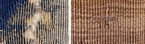 Consolidation des lacunes et des petites déchirures (Manufacture royale de tapisseries De Wit)