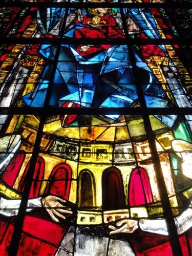 Le vitrail de l'Europe. Cliché : Olivier Munsch (DRAC Alsace)