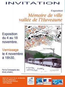 """Exposition """"Mémoire de ville, la vallée de l'Huveaune"""""""