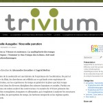 Blog der Zeitschrift Trivium