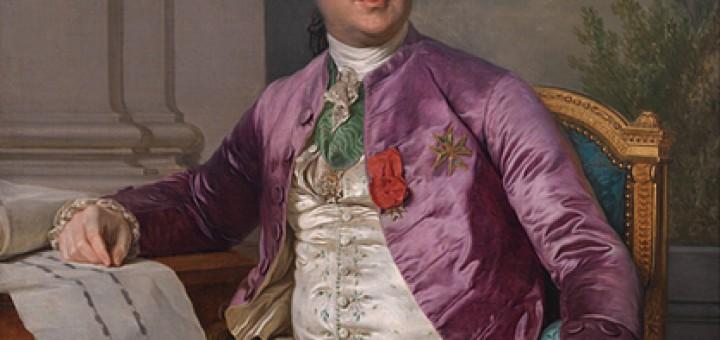 Joseph-Siffred Duplessis (1725-1802), Portraet af Charles-Claude Flahaut de la Billarderie comte d'Angiviller (1730-1809), 1780-1789