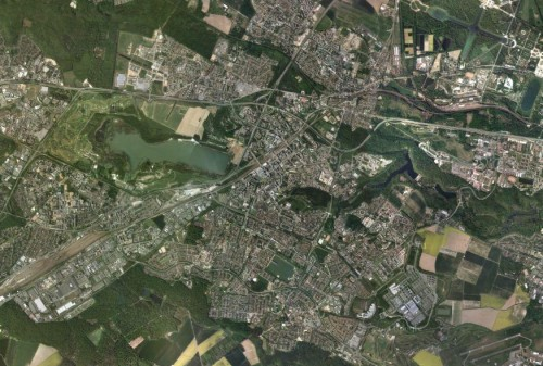 carte satellitaire st quentin
