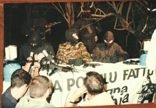 conférence de presse Borgo 1994 ©Thierry Dominici