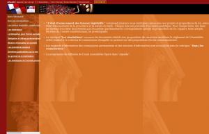 Page Actualité, le 4 mars 2000