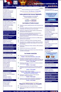 Page d'accueil, le 13 décembre 2005