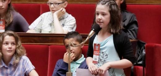 Session du Parlement des enfants, le 8 juin 2103 (© MaxPPP)