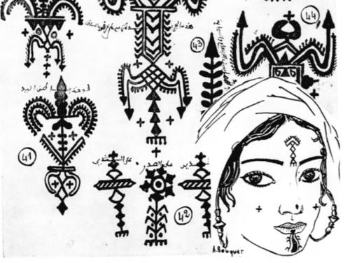 Le Tatouage Berbere Au Dela De L Aspect Esthetique Memoire Du Corps