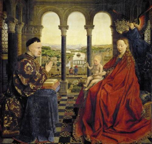 La vierge au Chancelier Rolin : Une peinture de la renaissance Flamande. - Master civilisations ...