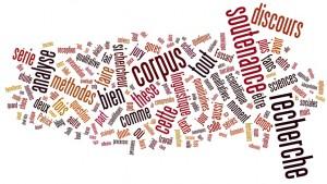 Nuage de mots généré automatiquement par Wordle à partir de tous les billets du mois d'octobre