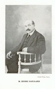 Henri Gaillard en 1917