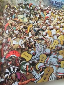 Les Thermophyles Le grand livre de l'histoire du monde tout en couleurs, éd. des deux coqs d'or, 1973.