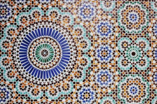 La Grande Mosquée de Paris Crédit photo : Noémie Cédille