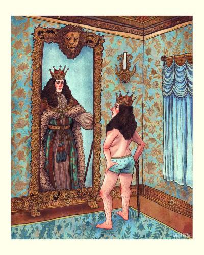 le roi est nu bis Angela Rizza