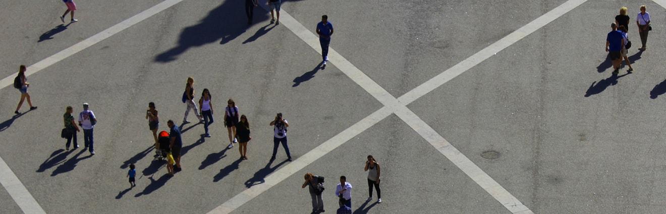 Platz Schatten