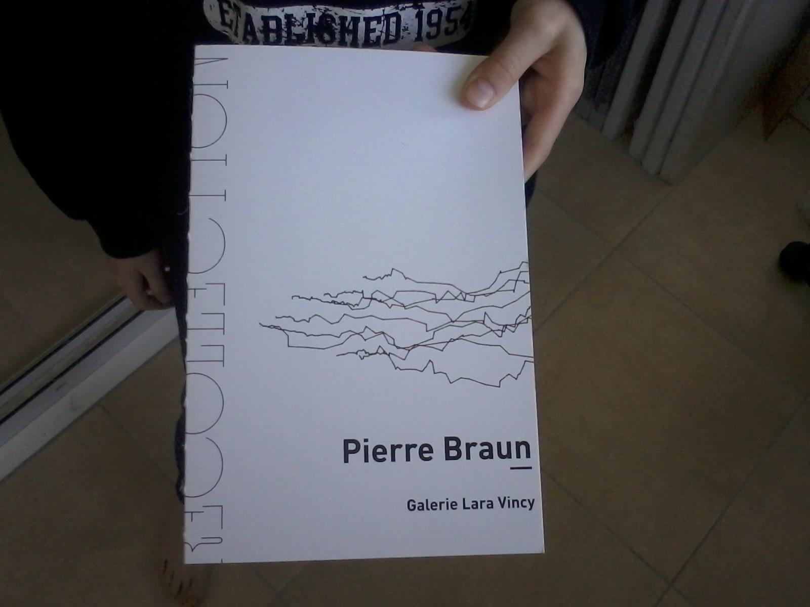 Pierre Braun Recollection. Coédition Galerie Lara Vincy / Présent Composé, isbn 978-2-9522355-6-3