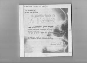 Véronique Hubert, prototype du livre d'artiste, [80 pages], colléees, noir & blanc, 17,5 x 17,5 cm, 2000. Courtesy Véronique Hubert