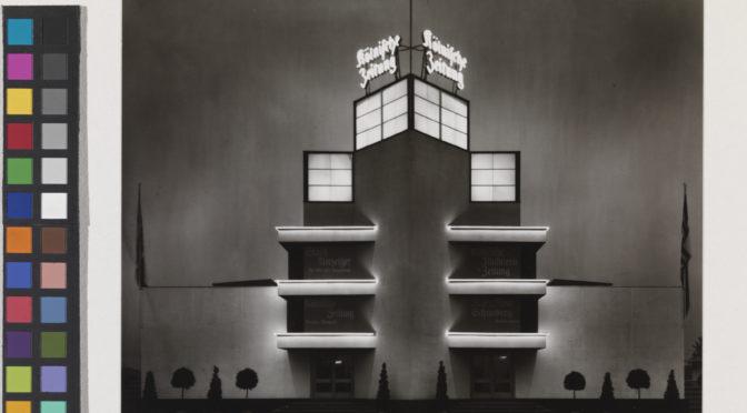Affiches en pierre et lumière   : L'architecture lumineuse pendant l'entre-deux-guerres