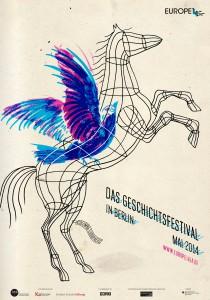 """""""Auf meinem Poster ist Pegasus als Vogel in einem Käfig dargestellt. […] Damit ist die Europäische Union gemeint, die sich sehnt wie Phoenix aus der Asche zu erstehen."""" (© Daniel Horowitz/bpb)"""