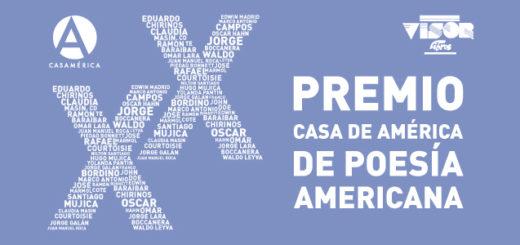 XX Premio Casa de América de Poesía Americana