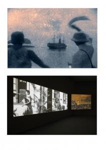 """Peter Forgacs, """"Looming Fire"""", Eye Film Institute (Amsterdam), 2013"""