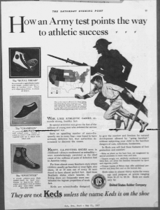 Fig.8. « How an Army test points the way to athletic success ». Saturday Evening Post, 21 mai 1927, p.77. « How an Army test points the way to athletic success ». Saturday Evening Post, 21 mai 1927, p.77.« How an Army test points the way to athletic success ». Saturday Evening Post, 21 mai 1927, p.77.  Source : J. Walter Thompson Company. 35mm Microfilm Proofs, 1906-1960 and undated. Reels 38.