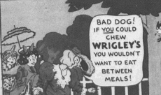 "Fig.2e.""Everyday Adventures with Elmer"" (détail). Publicité pour Hathaway sous forme de comics (détail). Source inconnue, non datée, vers 1931. Source : J. Walter Thompson Company. 35mm Microfilm Proofs, 1906-1960 and undated. Reel 40."