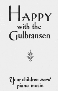 "Fig.8.a ""Happy with the Gulbransen... Your children need piano music"". Publicité pour les pianos Gulbransen (détail), Saturdary Evening Post, 1926. Source : J. Walter Thompson Company. 35mm Microfilm Proofs, 1906-1960 and undated. Reel 12."