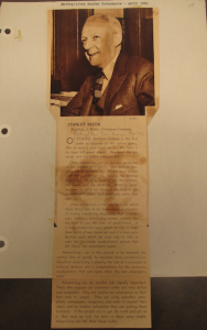 Fig.1 - Stanley B. Resor,
